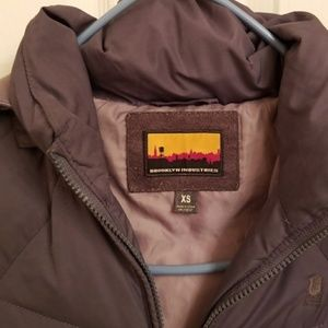 Fjord model Grey Brooklyn Industries down coat  XS